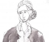 Pen-and-ink sketch