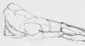Reclined line dwg malecopyright