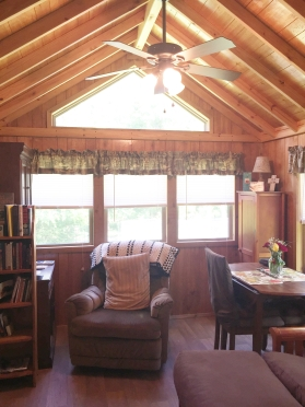 Cabin with windows
